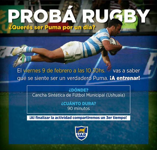 Anuncio: Proba ser un Puma, con jugadores de Argentina XV