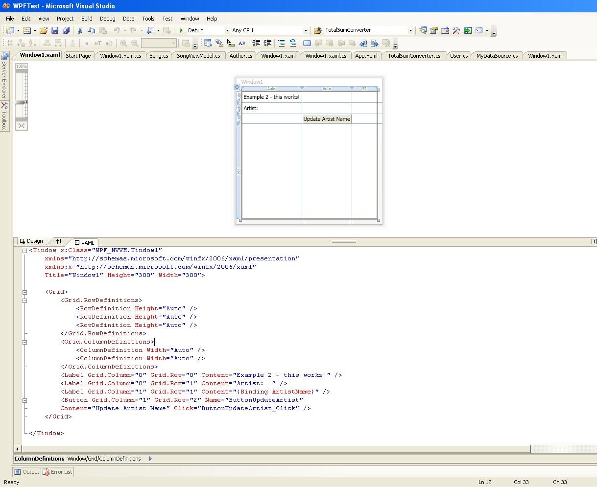 mvvm code example wpf