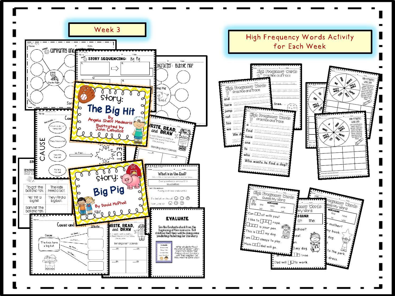 hight resolution of Lights... Camera... TEACH!: First Grade Houghton Mifflin