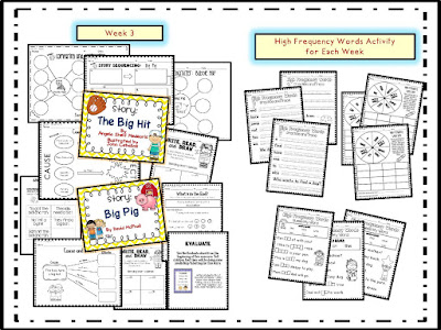 1st Grade Houghton Mifflin Theme 1 preview page 4