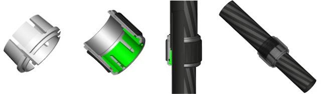 Triopo twist leg lock operation drawing