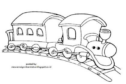 Gambar Transportasi Mewarnai