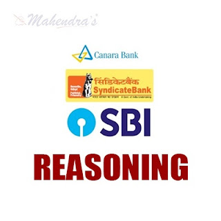 Syndicate Bank PO Special : Reasoning Ability | 02 - 02 - 18