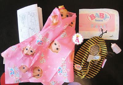 Какие игрушки в сюрпризах Baby Born