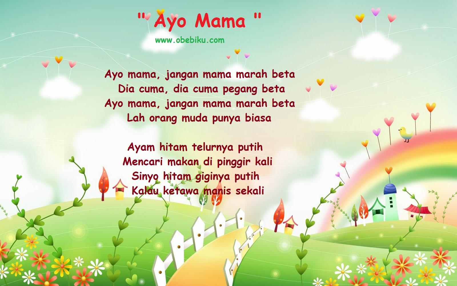 Lirik Lagu Untuk Mama Tercinta