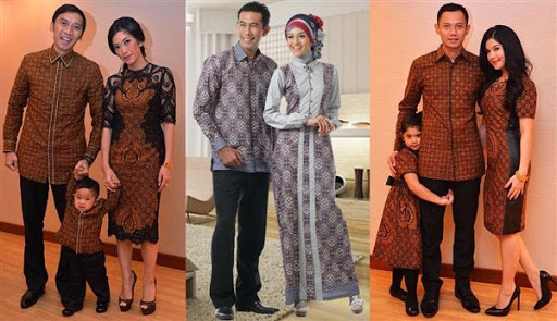 dress batik sarimbit
