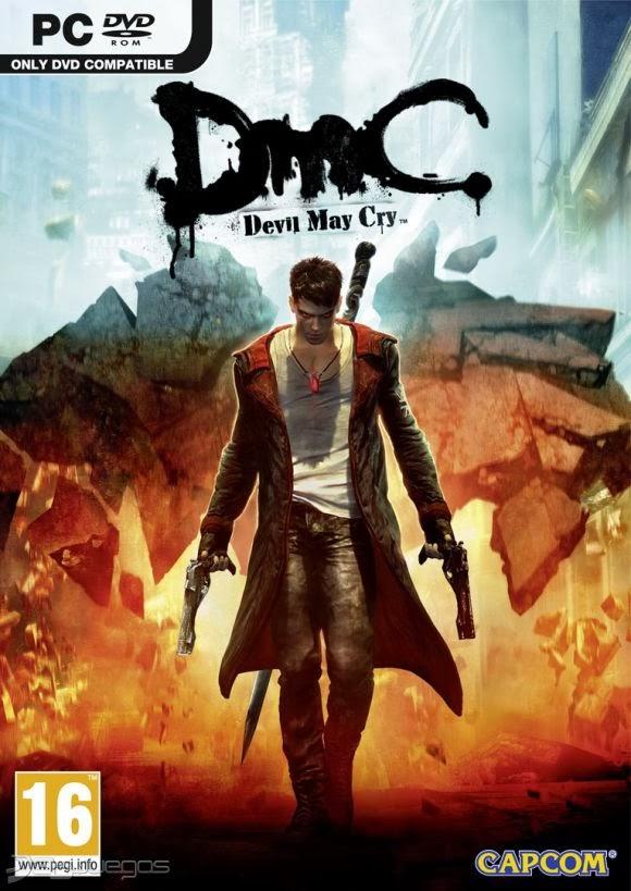 Cover Caratula DmC Devil May Cry PC
