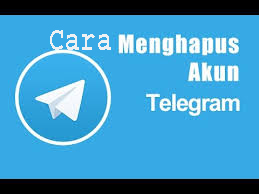 Cara Menghapus/Delete Akun Telegram 1