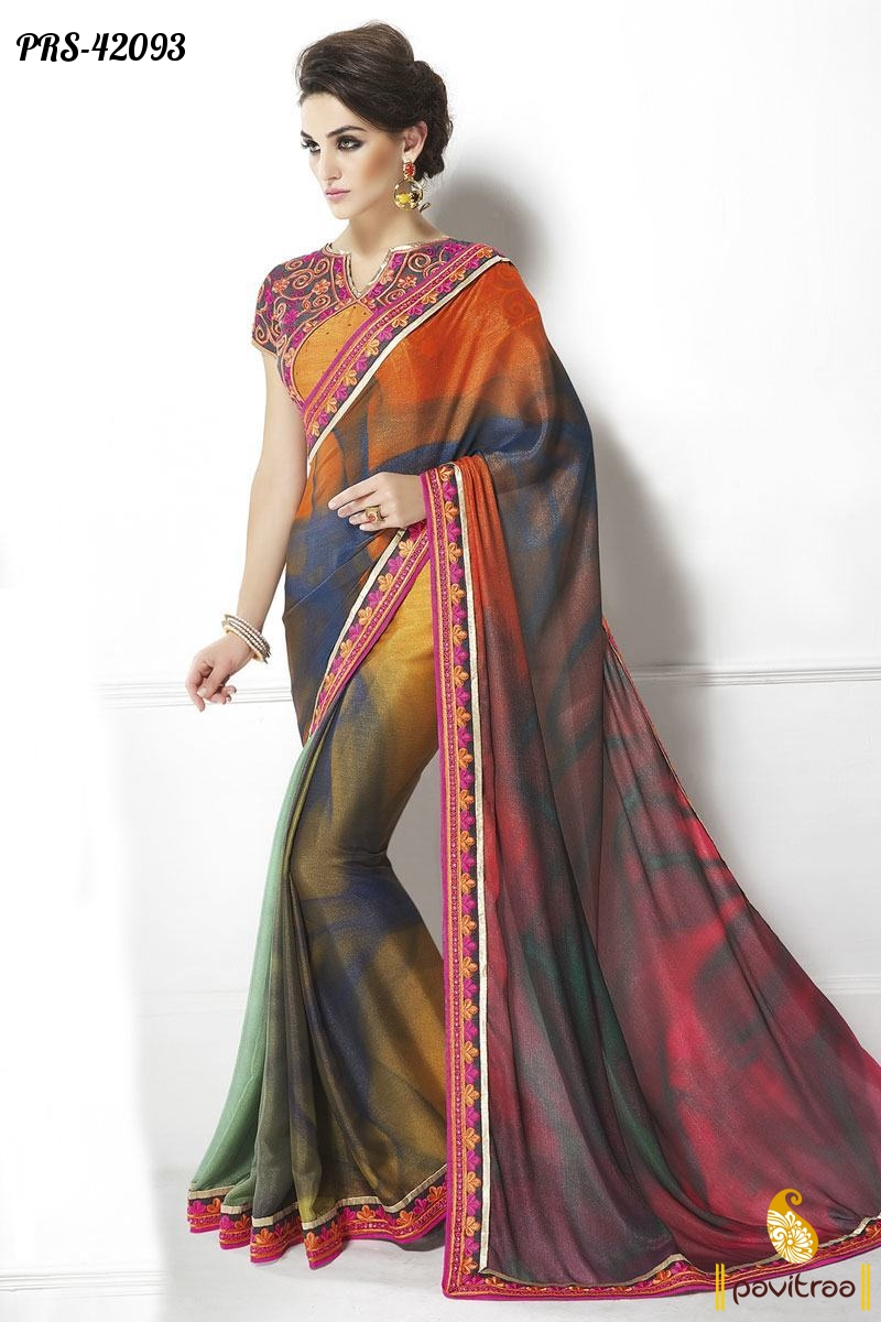 indian designer sarees collection online