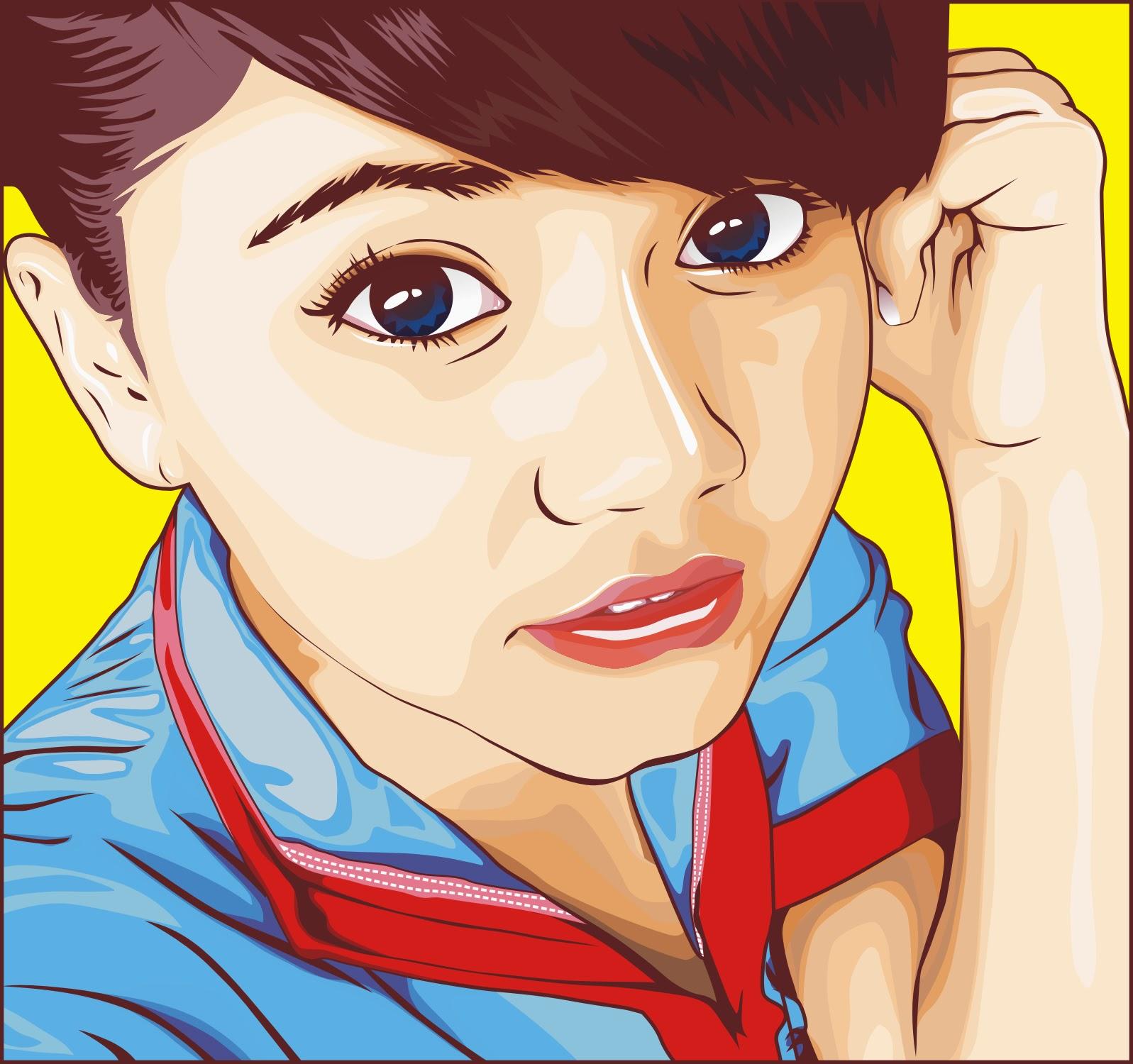 Gambar Kartun Hijab Jepang Keren Bestkartun