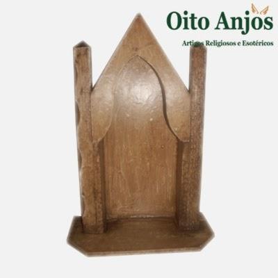 Oratório para Santo * Oito Anjos Artigos Religiosos e Loja Esotérica