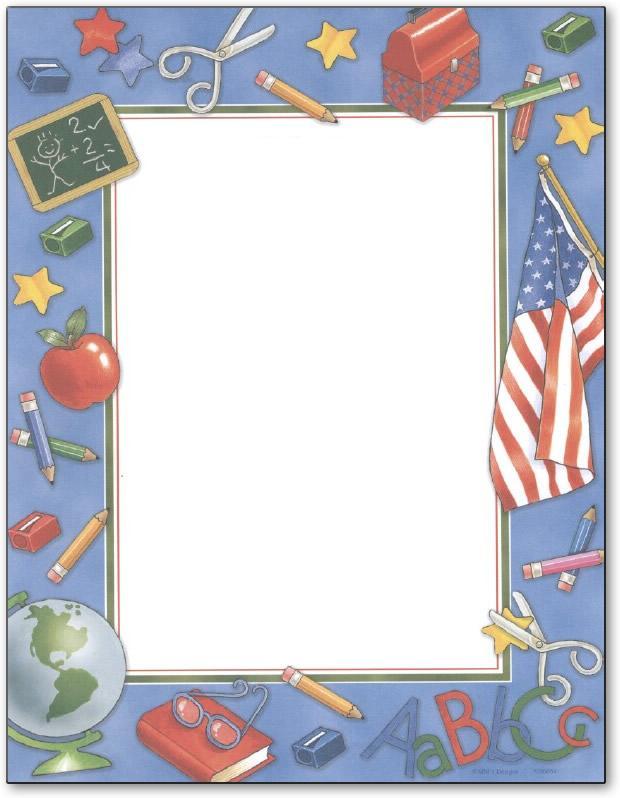 bordas coloridas para fazer diploma de formatura da