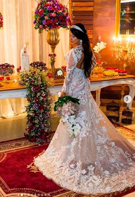 Priscila Pires noiva