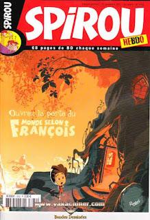 Spirou Hebdo, ouvrez la porte du..., numéro 3632, année 2007