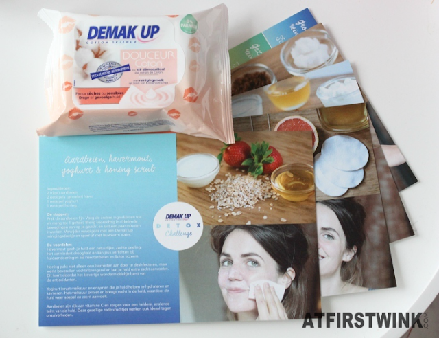 Demak'Up Detox Challenge DIY mask cards