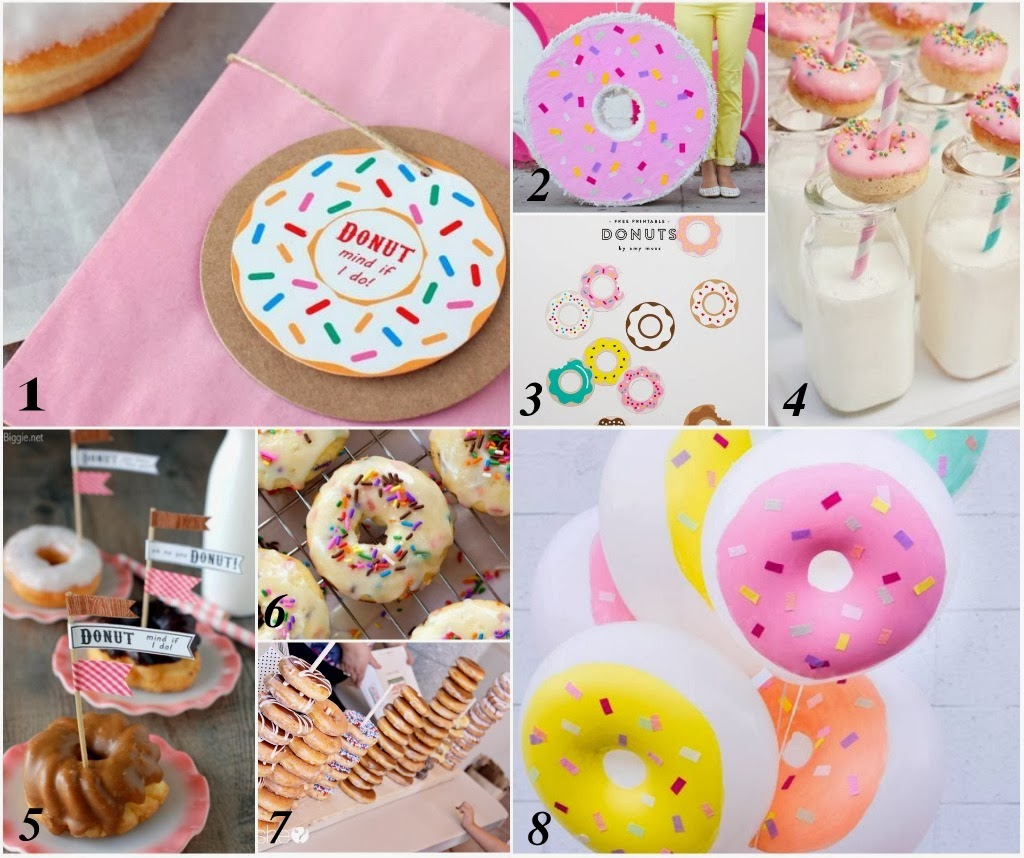 donut printables oh happy day - HD1024×858