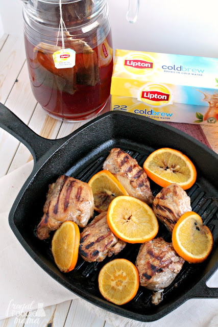 A southern favorite gets a citrus spiced twist perfect for wintertime in this flavorful Orange & Chinese Five Spice Tea Brined Chicken.