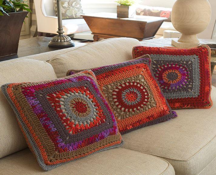 Ergahandmade Crochet Pillows Free Pattern