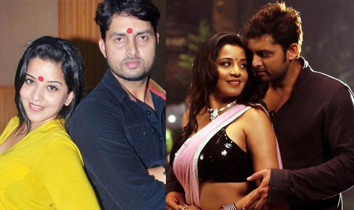 Bhojpuri Actor Vikrant Singh Rajput and Her Girlfriend Actress Monalisa HD Wallpapers