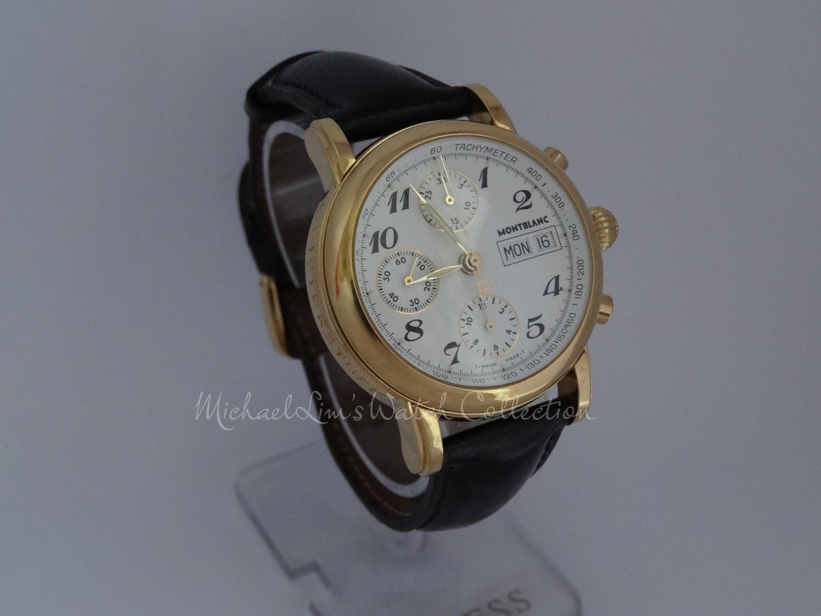 dfca6a6c82fd Brand  Montblanc. Model  Automatic Chronograph Meisterstück 4810 501