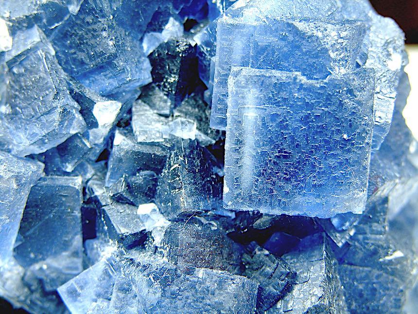 flourite crystals photograph