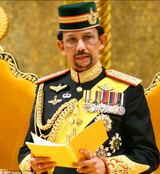 brunei banned christmas