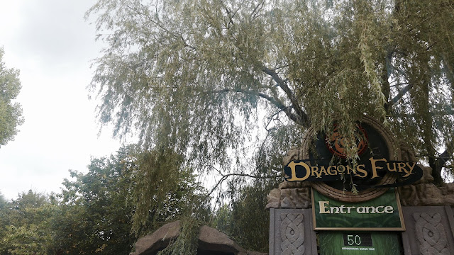 Photo of Dragon's Fury Entrance Sign