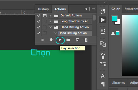 Action photoshop và cách sử dụng action trong Adobe Photoshop