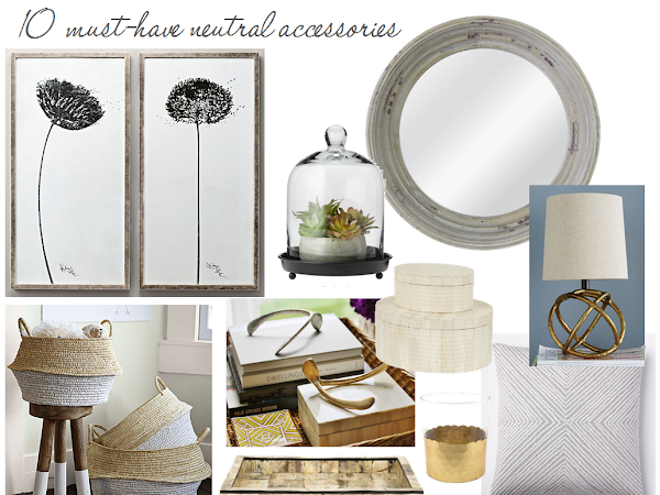 10 neutral accessories your rooms need now