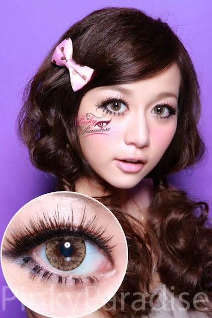 EOS Ice Brown - Circle Lenses (Colored Contacts)