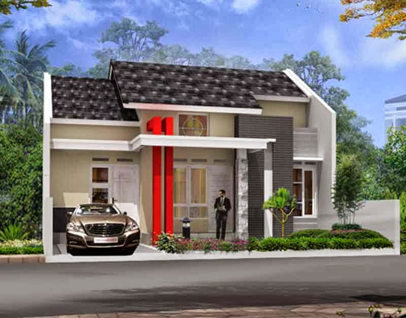 MODEL RUMAH MINIMALIS SEDERHANA December 2020