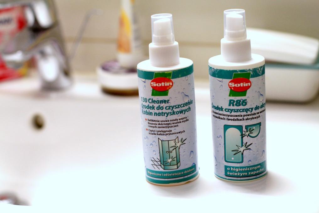 środki do mycia łazienki