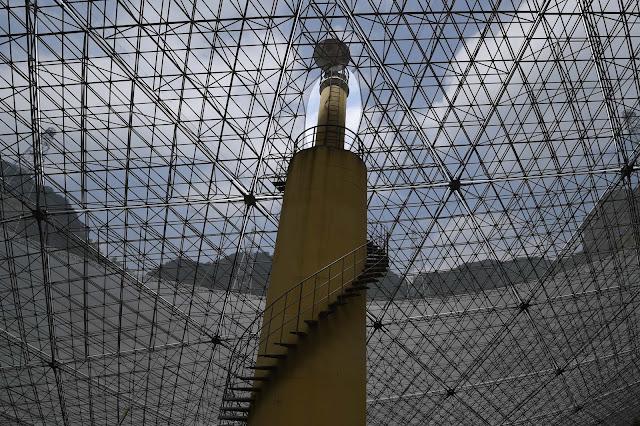 Строительство радиотелескопа FAST