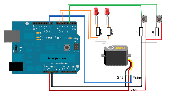 Arduino Electronics And Programming How To Control A Servo