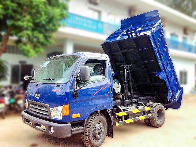 Ô TÔ TẢI BEN HYUNDAI HD65 3.7M3