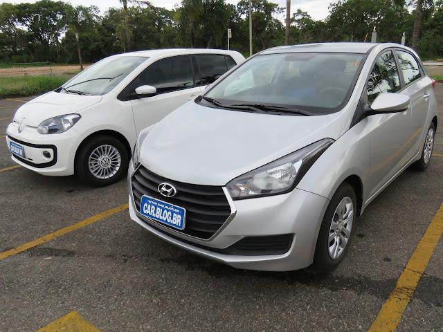 Hyundai HB20 1.0 três cilindros