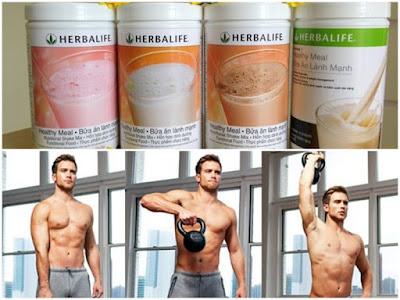 Cách sử dụng Herbalife cho người tập gym