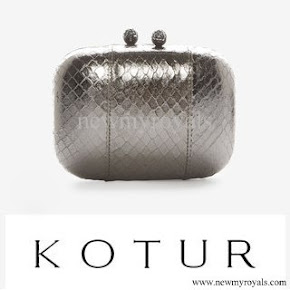 Crown Princess Mette-Marit style KOTUR Clutch