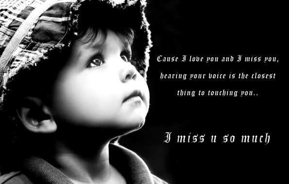 Love greetings, creative arts, Emotional greetings: Heart touching miss u quotes wallpaper ...
