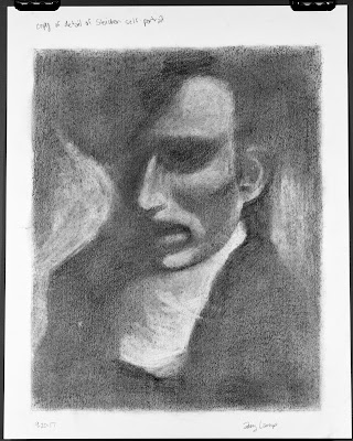 Steichen self-portrait value exercise from Drawing on the Right Side of the Brain