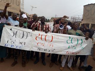 Guinée : Kindia, les forces sociales de Guinée manifestent pour exprimer leur ras le bol par rapport à l'augmentation du prix du carburant