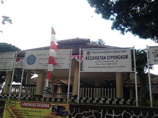 Gambar Kantor Kecamatan Cipongkor