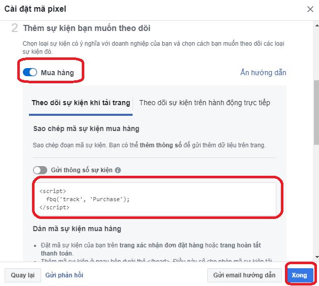 Theo Dõi Chuyên Đổi Trong Quảng Cáo Facebook (Conversion Tracking) 6