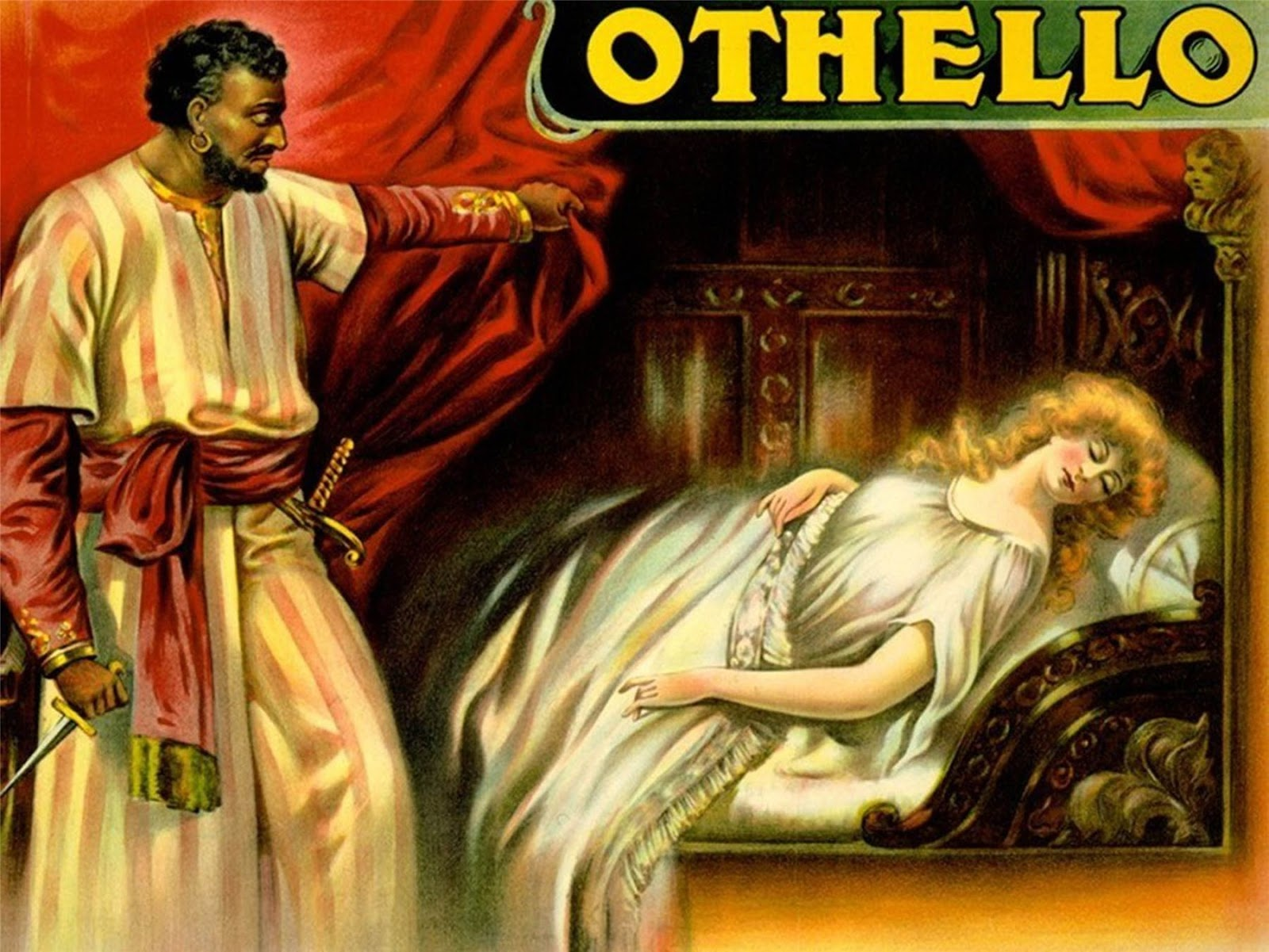 the tragic relationship between othello and desdemona in othello a play by william shakespeare In light of the above statement, othello, is most certainly one of shakespeare's more famous she elopes with othello, a 'moor' who her father despises and states that desdemona ran from, 'her a further clarification that othello and desdemona's relationship were doomed to fail is in the fact that.