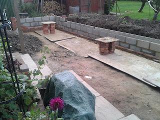 Garden hard landscaping