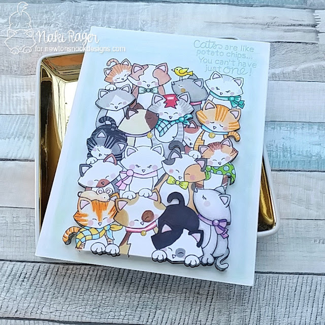 Newton's Nook Designs Company of Cats Set - Naki Rager
