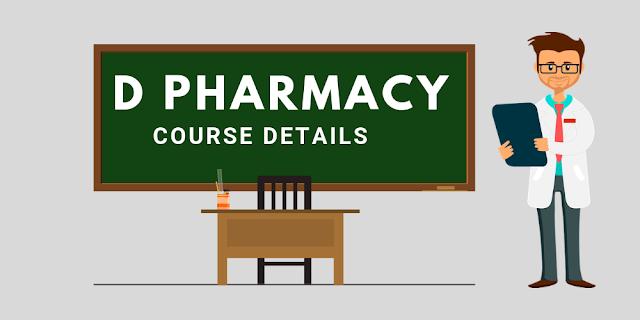 D Pharmacy Course Fees