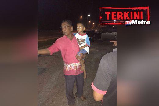 Budak Lelaki 4 Tahun Yang Diculik, Selamat Ditemui