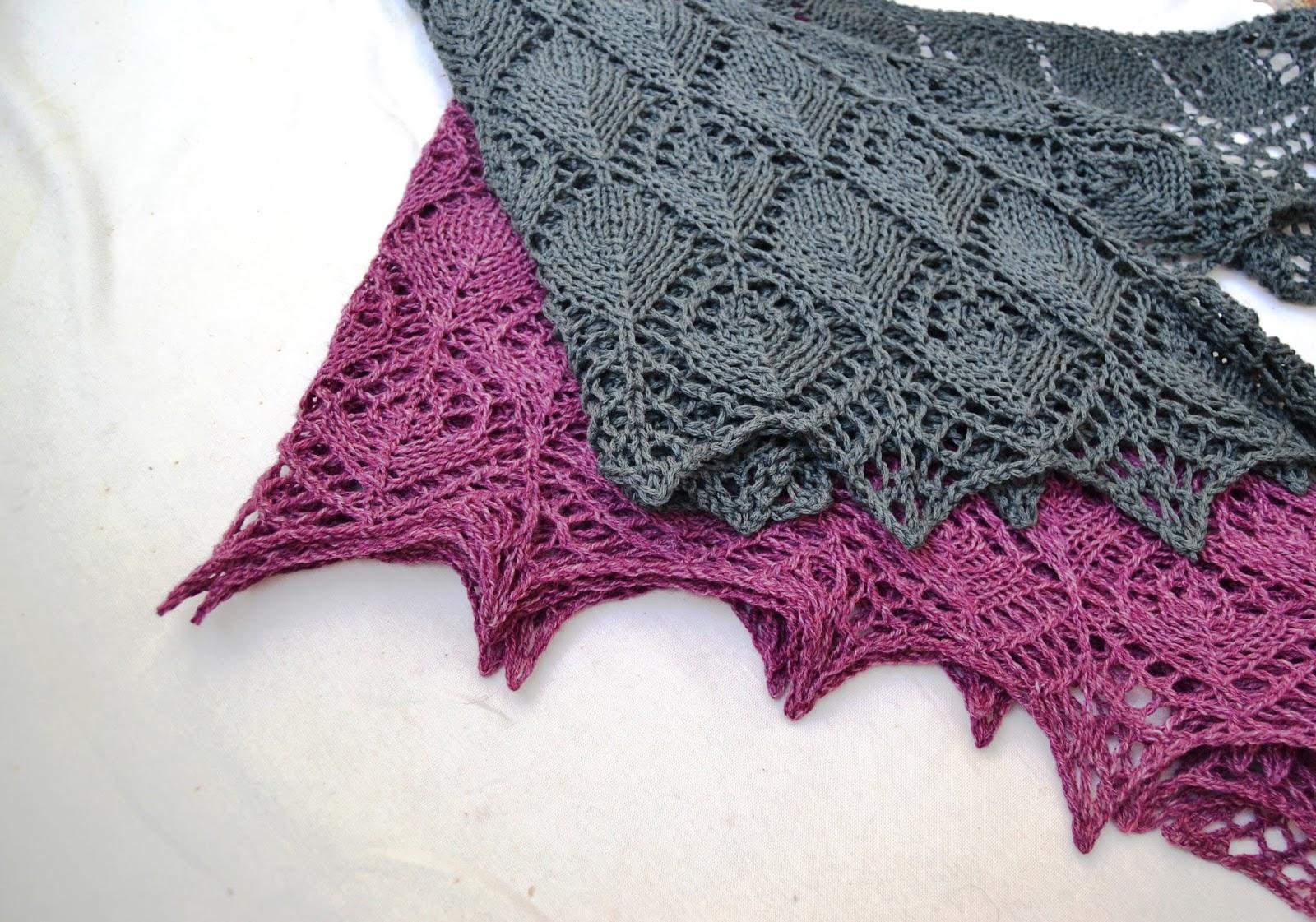 Пряжа для шали цвета