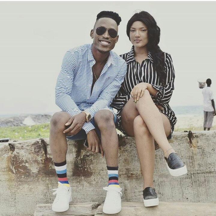 Meet half caste girlfriend of rapper Mr 2kay, Gifty Powers